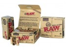 RAW MASTERPIECE ROLL KING SIZE 3MM + 30 PRE-ROLLED FILTER TIPS thumbnail