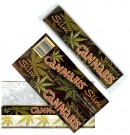 Cannabis Hemp Kingsize Slims Flavoured Rolling Papers thumbnail