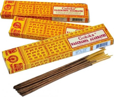 Goloka Incense Nag Champ