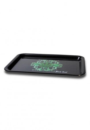 Black Leaf Mixing Tray Leaf