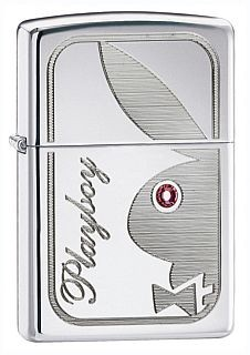 24789 PLAYBOY CRYSTAL EYE ZIPPO LIGHTER