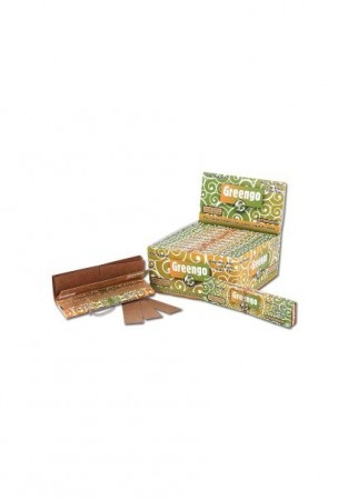 Greengo King Size Slim Unbleached Papers & Tips