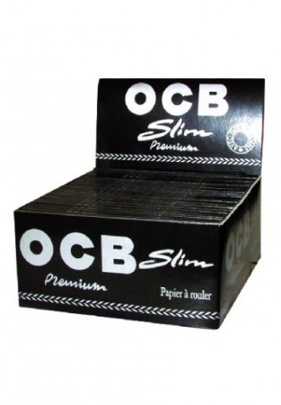 OCB Slim Premium KS Black