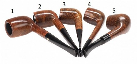 Five Orginal BBB Pipes