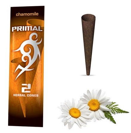 Primal Herbal Wraps Chamomile 100% nicotine free