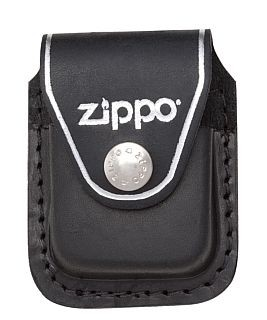 LPCBK LIGHTER POUCH WITH CLIP BLACK ZIPPO LIGHTER