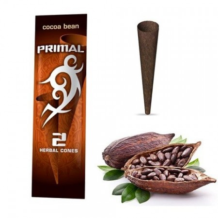Primal Herbal Wraps Cocoa Bean 100% nicotine free