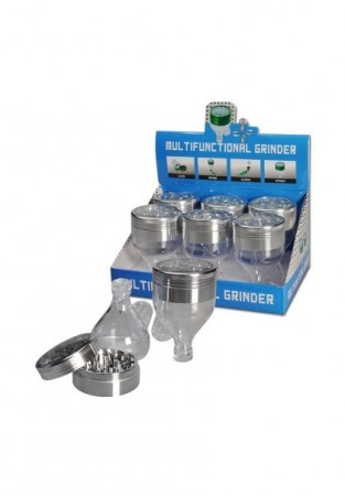 Multifunctional Grinder with Funnel