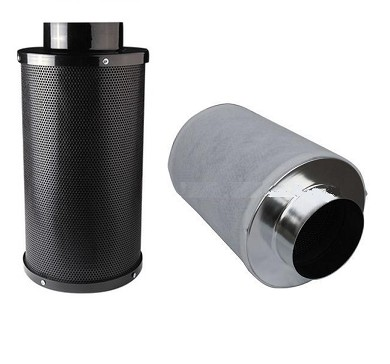Indoor garden carbon filter with virgin carbon 4