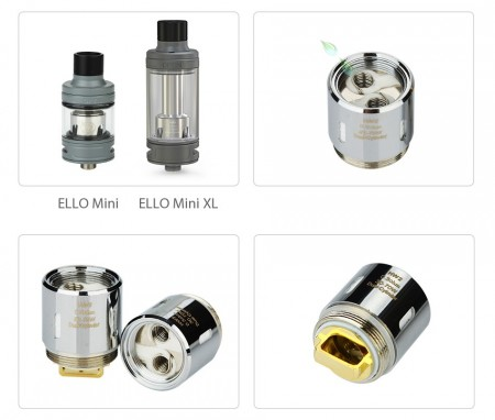 Eleaf HW2 Dual-Cylinder Head for Ello Mini