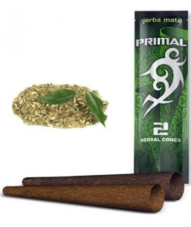 Primal Herbal Wraps Yerba Mate 100% nicotine free