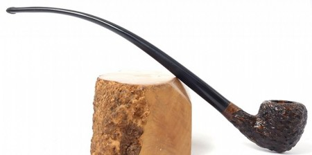 BPK Rusticated Churchwarden Pipe Acorn