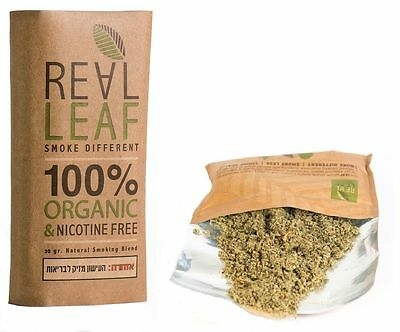 RealLeaf Herbal smoking blends