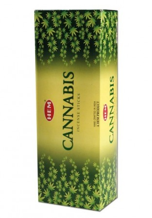 Hem Cannabis Hexa Incense Sticks