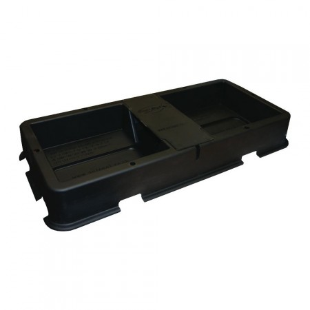2POT TRAY AND LID (BLACK)