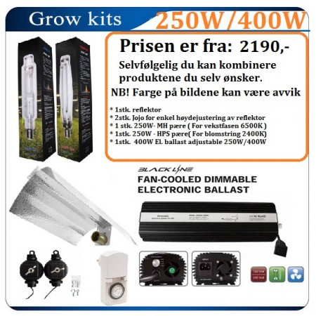 Light kit 250W / 400W