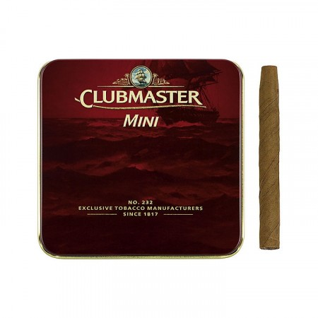 Clubmaster Mini 20p Red Vanilla